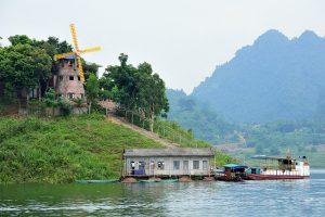 Thung Nai tỉnh Hòa Bình với non nước hữu tình