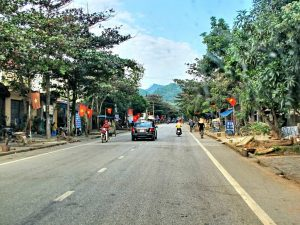 Gioa thông đi huyện Bắc Quang rất thuận lợi