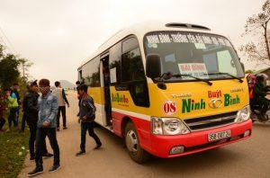 Xe buýt Ninh Bình