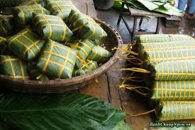 Bánh chưng Bờ Đậu -đặc sản Phú Lương