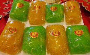 Bánh phu thê là đặc sản ở Bắc Ninh, dùng trong lễ cưới hỏi