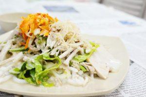 Thưởng thức ẩm thực Bạc Liêu với bánh tằm ngan dừa