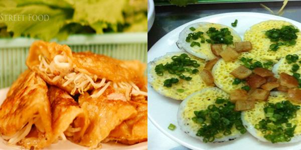 Bánh xèo, bánh ăn Phan Rang hấp dẫn du khách bởi phần nhân hải sản