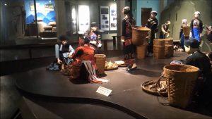 Phiên chợ vùng cao được tái hiện trong bảo tàng văn hóa các dân tộc Việt Nam