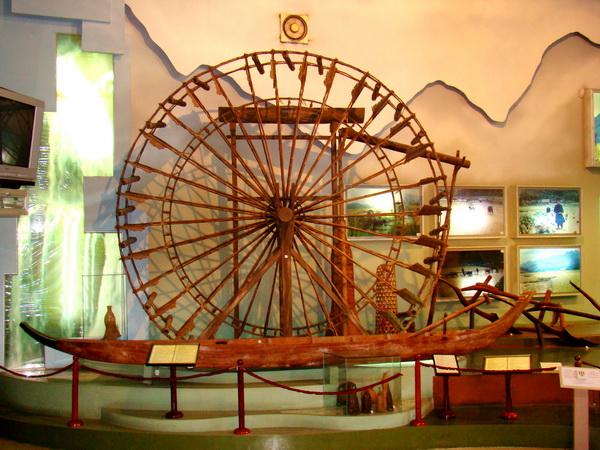 Cọn nước người Thái trong bảo tàng