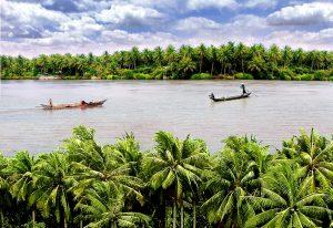 Cảnh đẹp xứ dừa Bến Tre