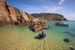 Biển Kỳ Co đầy ma mị trong mắt du khách, một vẻ đẹp quyến rũ ru lòng người