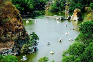 Cảnh đẹp ở Bửu thác Cửu Long