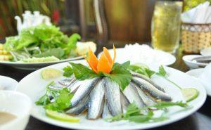 Gỏi cá nhồng đặc sản Kiên Giang