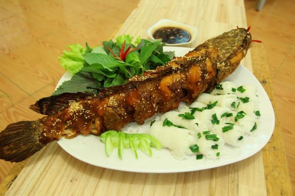 Cá tràu Võ Canh- đặc sản Khánh Hòa