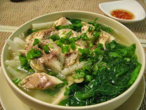 Thơ đứ đừ canh cá làng Quỳnh Côi