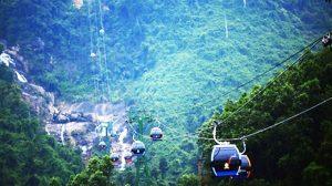 Cáp treo đi Phan Xi Păng là một trong những tuyến cáp treo hiện đại nhát thế giới.