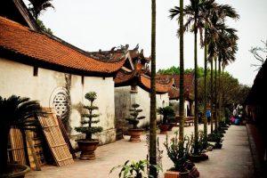 Kiến trúc chùa với những đầu đao cong vút