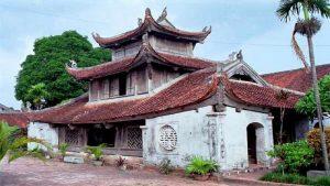 Chùa Bút Tháp ngày nay là một trong những điểm du lịch hấp dẫn ở Bắc Ninh