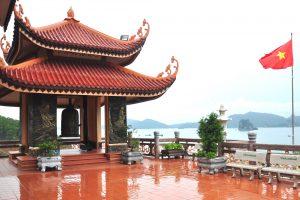 Gác chuông chùa Cái Bầu