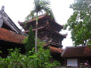 Một góc chùa Keo Thái Bình- điểm du lịch Thái Bình không thể bỏ qua