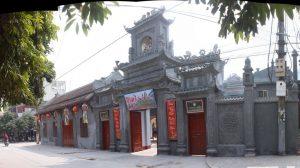 Cổng chùa phố ấn tượng du khách