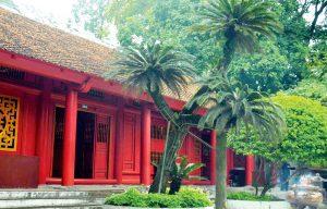 Chùa Thiên Quang được xây dựng theo kiểu nội công ngoại quốc