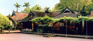 Chùa vẽ có kiến trúc cổ kính