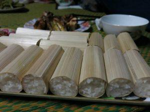 Món com lam nổi tiếng hấp dẫn ở Tuyên Quang