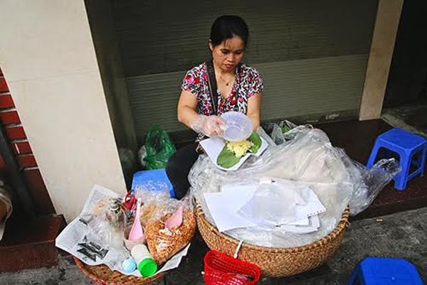 Cốm nà Pò được bán ở khắp tỉnh Cao bằng