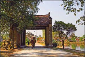Bình yên làng quê Thổ Hà