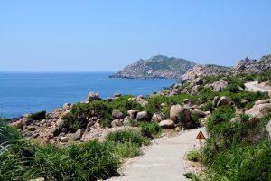 Cù Lao Xanh mênh mông biển nước, nơi này có nhiều điểm hấp dẫn để du khách khám phá