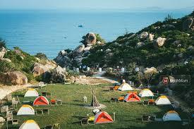 Khu du lịch dã ngoại Trung Lương được nhiều du khách lựa chọn vui chơi, giải trí