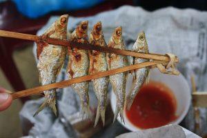 Cá nướng đặc sản Ba Bể