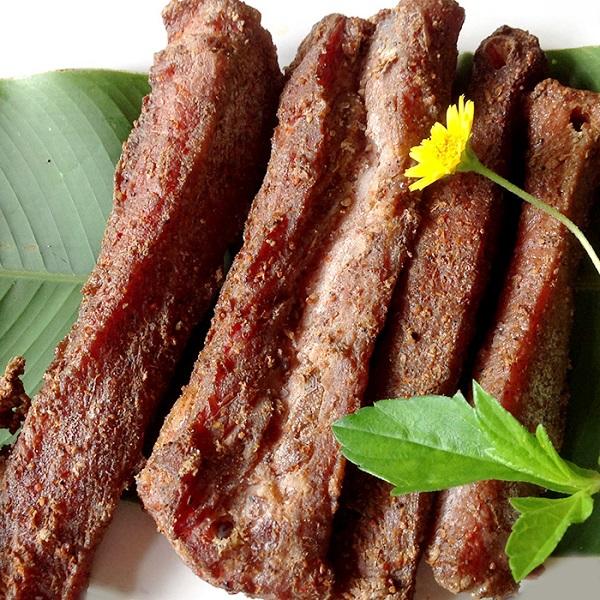 Thịt trâu gác bếp bắc Kạn