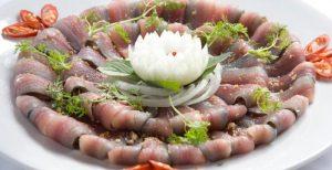 Đặc sản Kiên Giang, gỏi cá trích