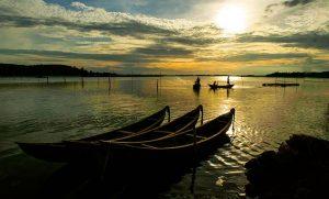 Du lịch Phú Yên ngắm đầm Ô Loan lúc ráng chiều