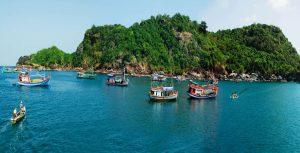 Xanh mát đảo hòn Khoai