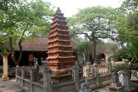 Cổ kính đền Đậu An
