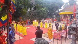 Lễ hội đền Du Yến diễn ra quy mô,nhiều nghi lễ truyền thống