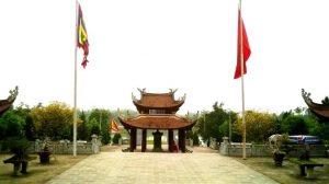 Đền thờ tổ Lạc Long Quân