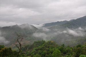 Mây núi trên đèo Giàng