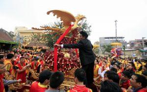 Lễ hội đình Đồng Kỵ được tổ chức với quy mô lớn
