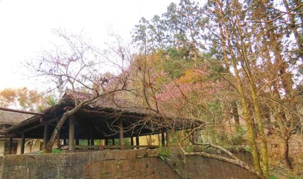 Ngôi nhà nằm giữa thung lũng có hình mui rừa, là một địa thế đắc lợi