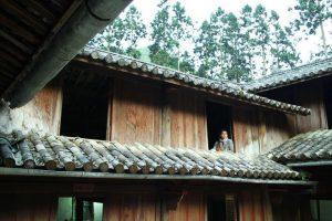 Dinh thự họ Vương có kết cấu 4 ngang, 6 dọc, 64 phòng