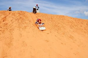 Trượt cát ở Bình Thuận