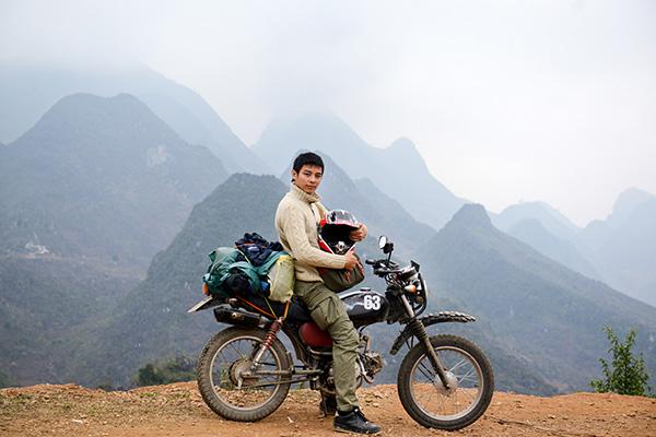 Xe máy là phương tiện đi phượt tuyệt vời cho dân du lịch
