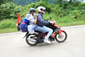 Xe máy là một trong những phương tiện giao thông được các phượt thủ thích nhất