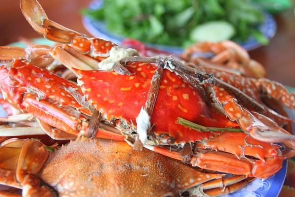 Ghẹ Sông Cầu ngọt, thịt chắc, ăn một lần nhớ mãi