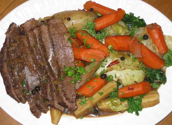 Gié bò Tây Sơn là món ngon cho người sành ăn