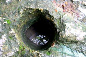 Giếng tiên có nước trong, xanh mát