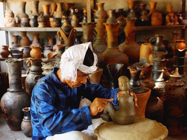 Làng gốm Bàu Trúc một làng gốm cổ ở nước ta