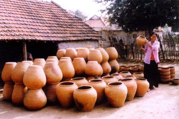Gốm Hương Canh nổi tiếng và có mặt khắp mọi nơi