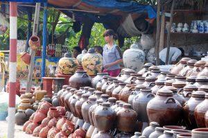 Làng gốm Hương Canh có tuổi đời hơn 300 nă tuổi