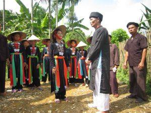 Hát sấng cổ ở huyện Phú Lương